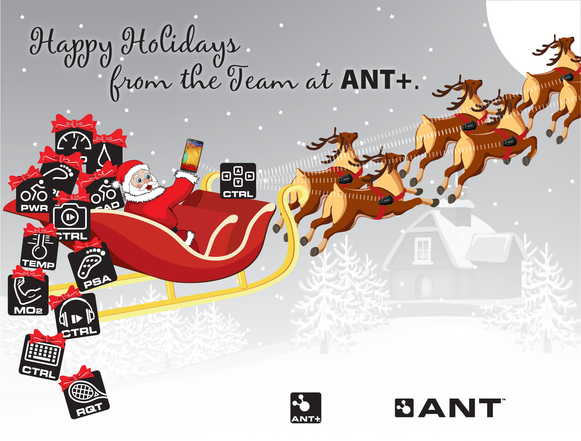 Happy Holidays from the team at ANT+!