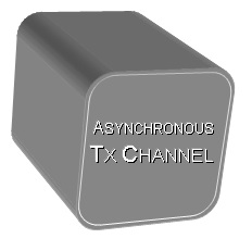 Asynchronous Tx Channel Building Block
