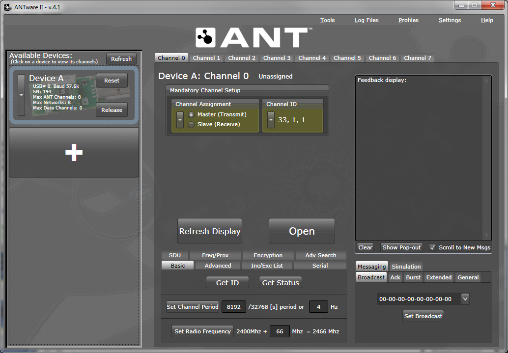 Screenshot of ANTware II