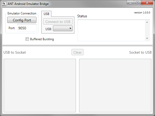 ANT Android Emulator Bridge Tool screenshot